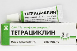 Тетрациклин при лечении бронхита