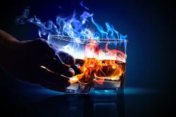 Алкоголь - причина бронхита