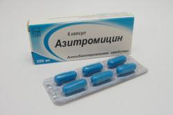 Азитромицин при бронхите