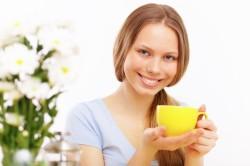Обильное теплое питье для лечения бронхита