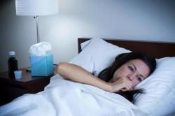 Приступы ночного кашля при астматическом бронхите