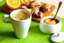 Имбирный чай при бронхите